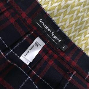 American Apparel Skirts - PLAID AMERICAN APPAREL SKIRT